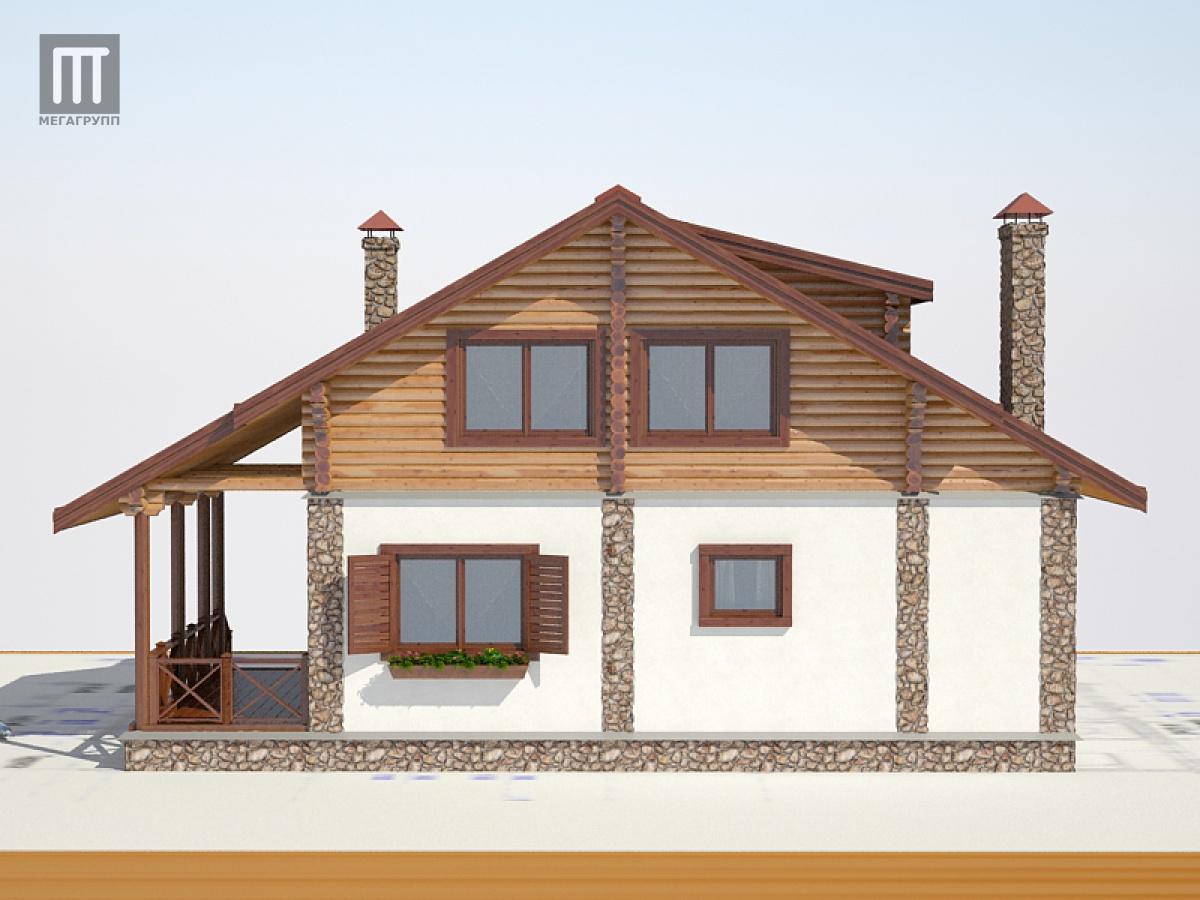 Дом шале своими руками проект
