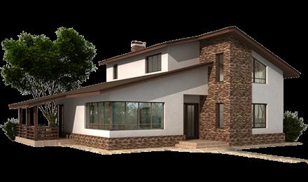 Строительная Компания МегаГрупп. Строительство домов из бревна