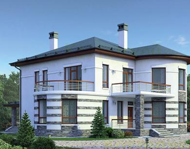 Дом из камня Проект 38-78 235 кв.м
